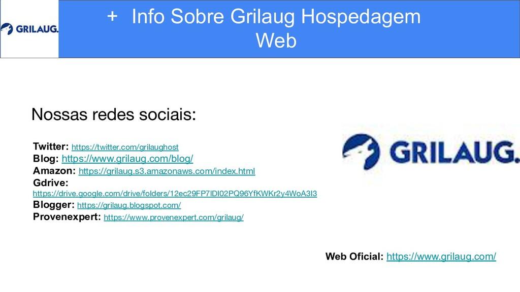 Web Oficial: https://www.grilaug.com/ + Info So...