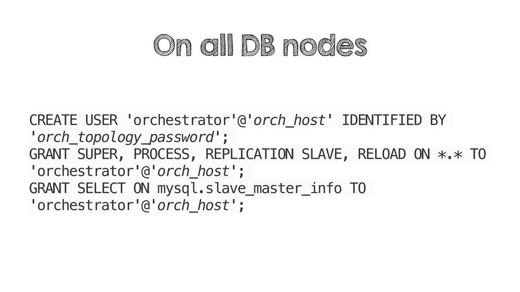 CREATE USER 'orchestrator'@'orch_host' IDENTIFI...
