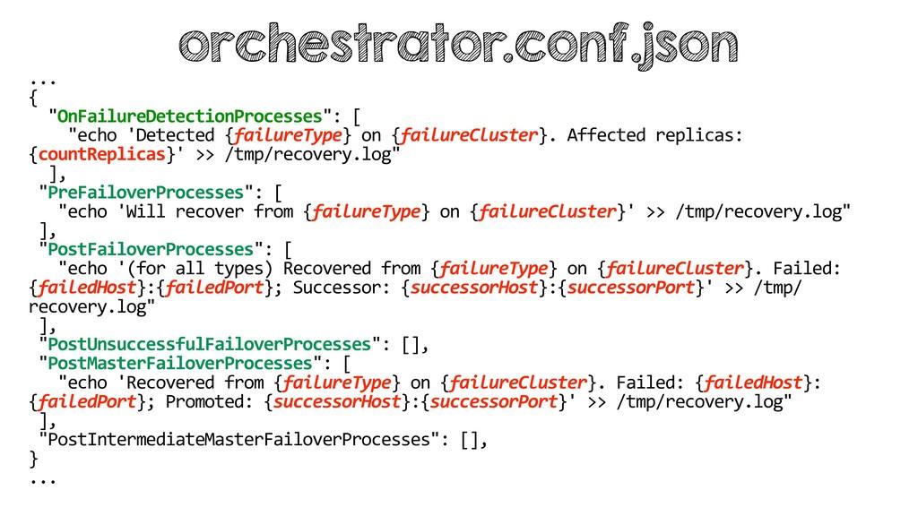 """... { """"OnFailureDetectionProcesses"""": [ """"echo 'D..."""