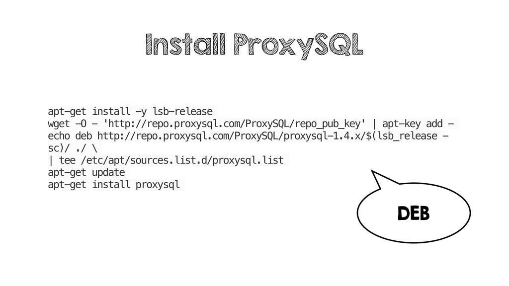 apt-get install -y lsb-release wget -O - 'http:...
