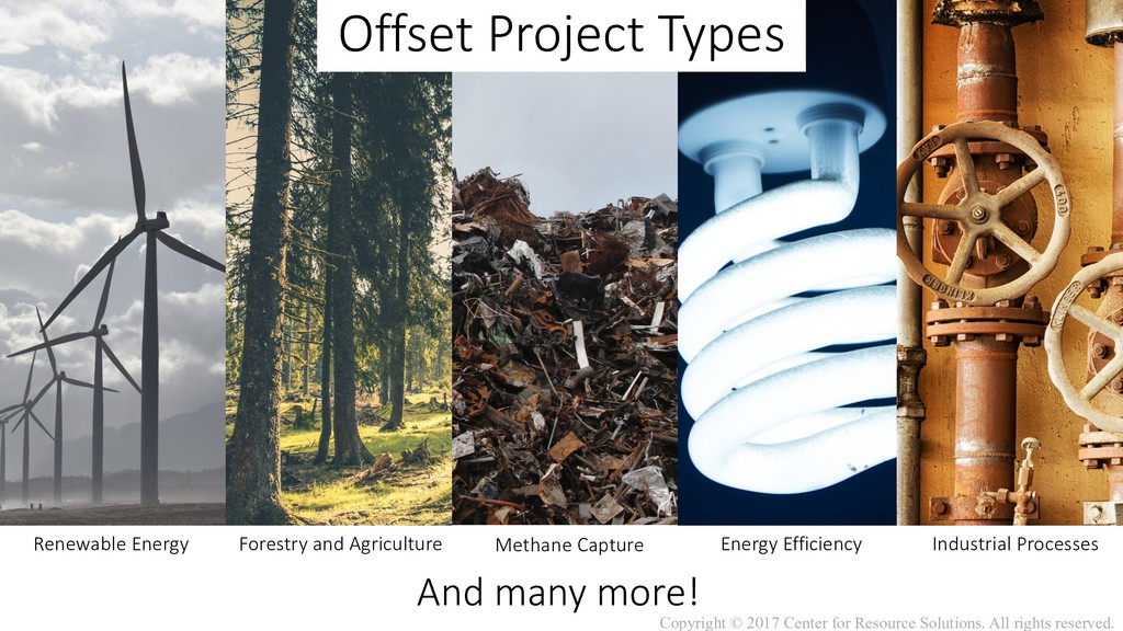 Offset Project Types Renewable Energy Forestry ...