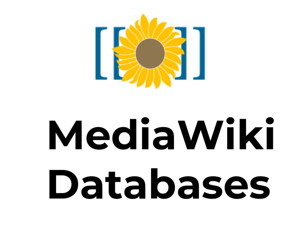 MediaWiki Databases