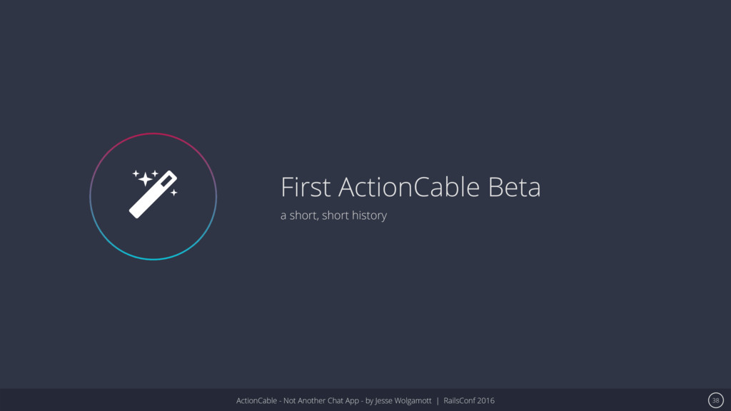 ActionCable - Not Another Chat App - by Jesse W...