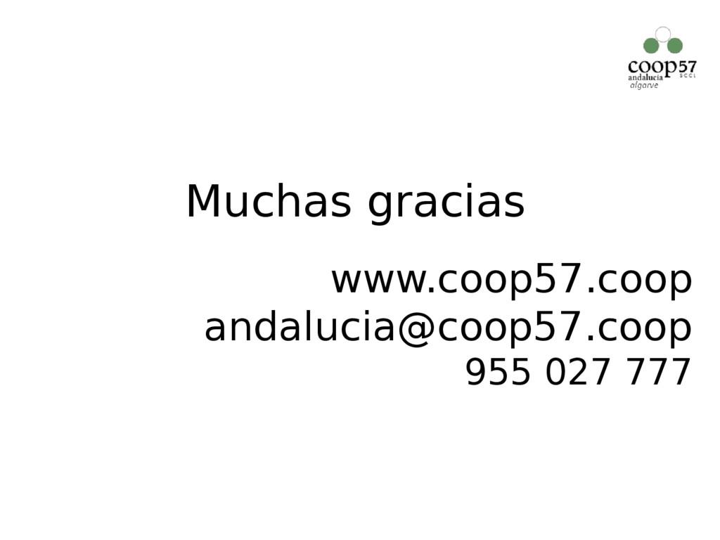 www.coop57.coop andalucia@coop57.coop 955 027 7...
