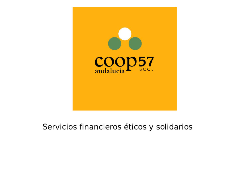 Servicios financieros éticos y solidarios