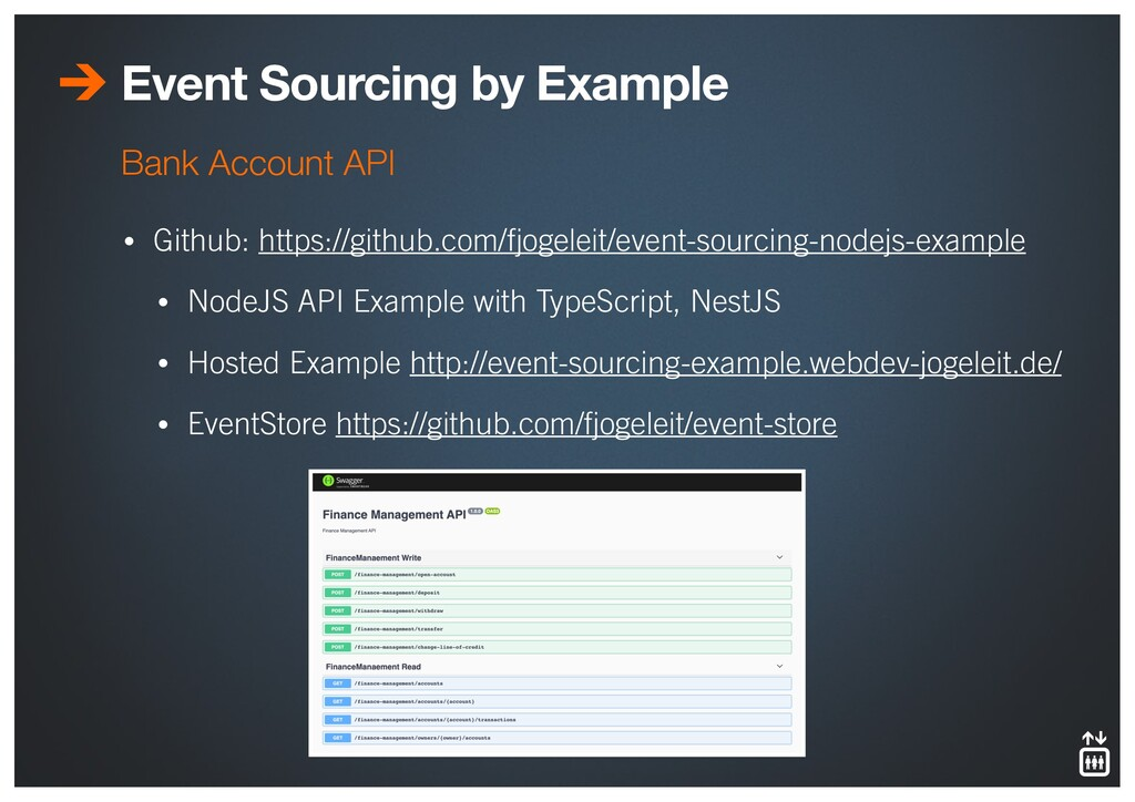 Event Sourcing by Example • Github: https://git...