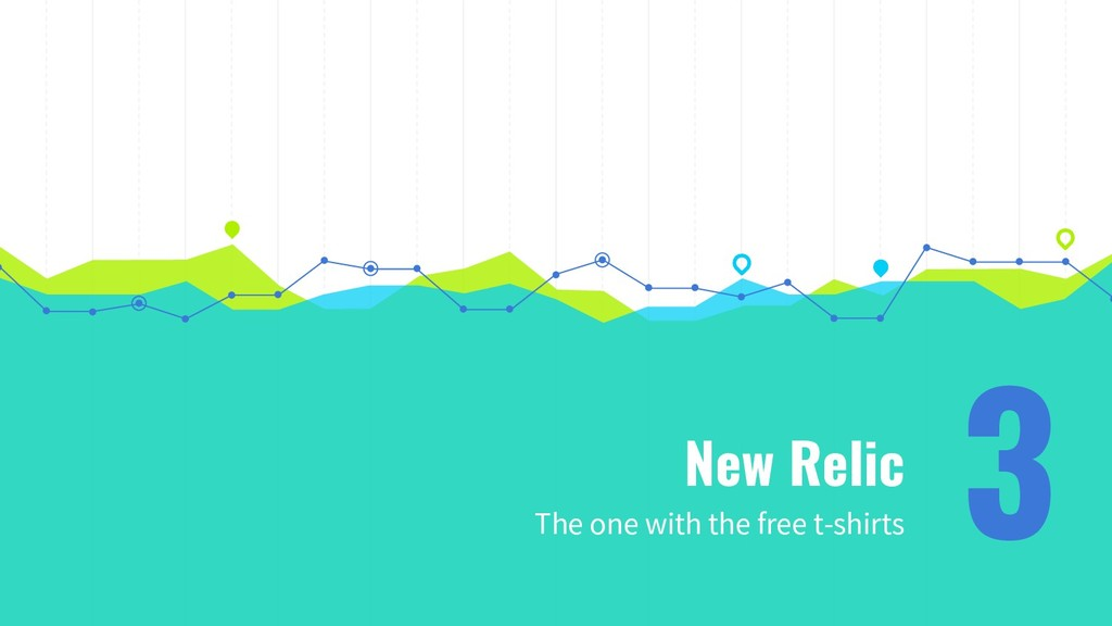 New Relic The one with the free t-shirts 3