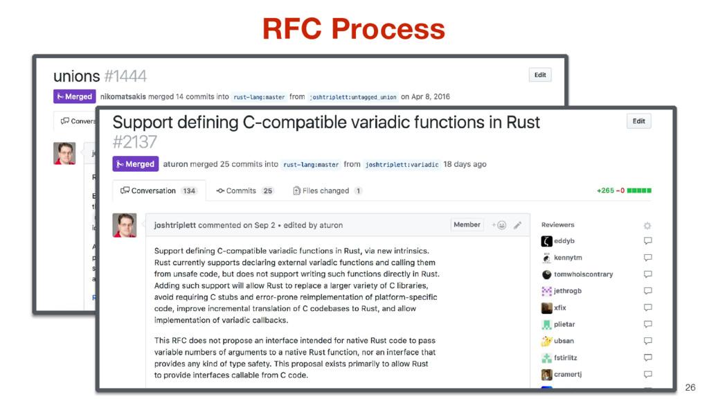 26 RFC Process
