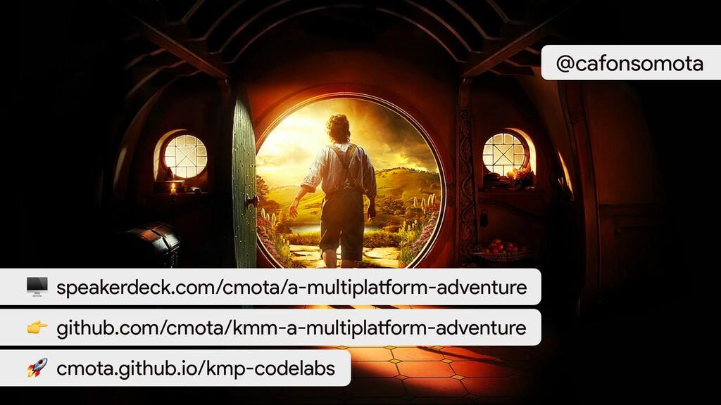 speakerdeck.com/cmota/a-multiplatform-adventur...