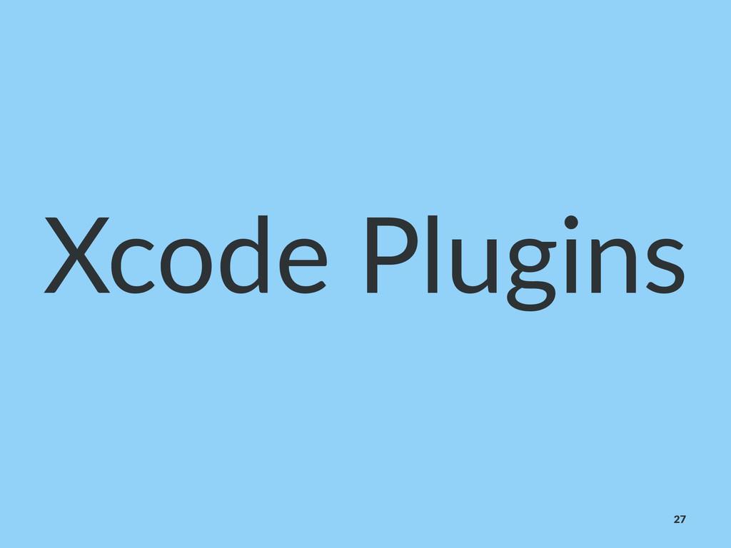 Xcode&Plugins 27