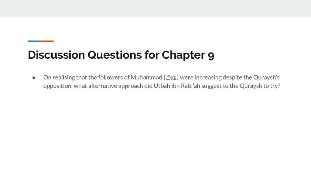 Discussion Questions for Chapter 9 ● On realisi...