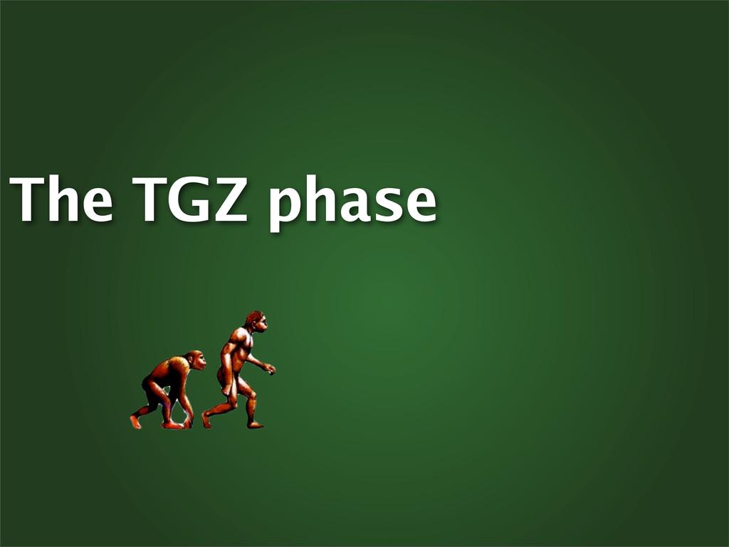 The TGZ phase