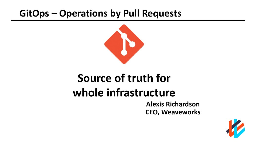 GitOps – Operations by Pull Requests Alexis Ric...