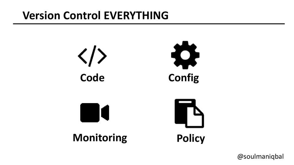 Version Control EVERYTHING Code Config Monitori...