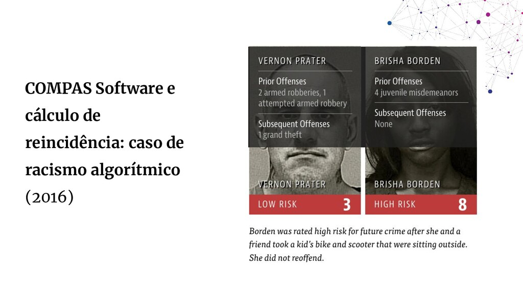 COMPAS Software e cálculo de reincidência: caso...