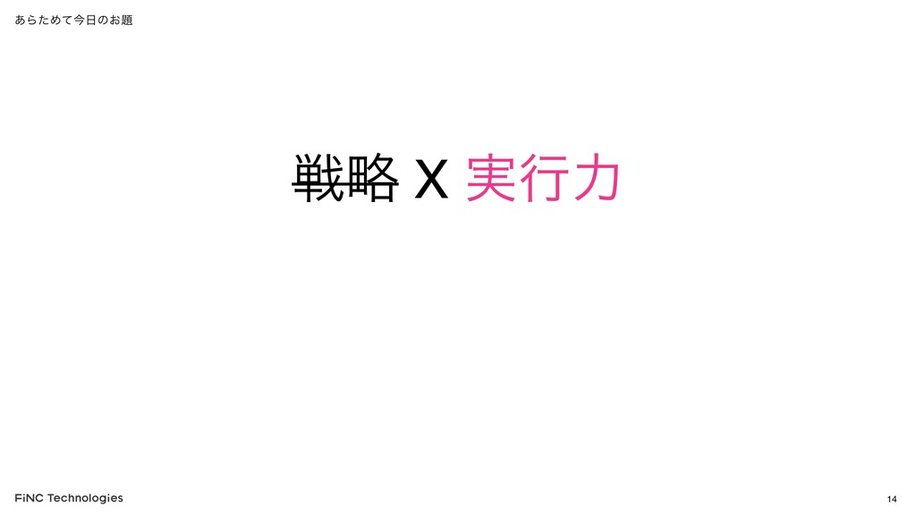 ઓུ X ࣮ߦྗ 14 ͋ΒͨΊͯࠓͷ͓