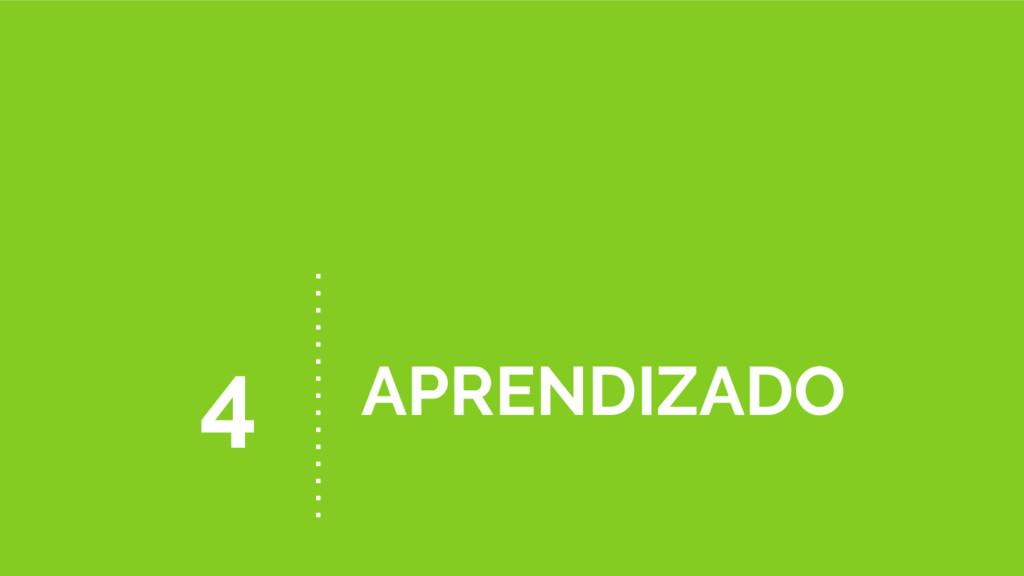 APRENDIZADO 4