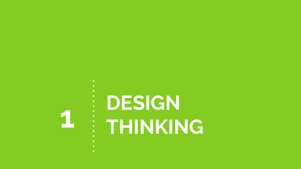 DESIGN THINKING 1