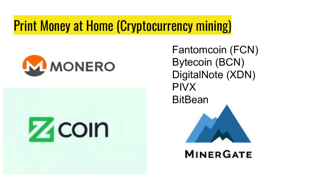 Print Money at Home (Cryptocurrency mining) Fan...