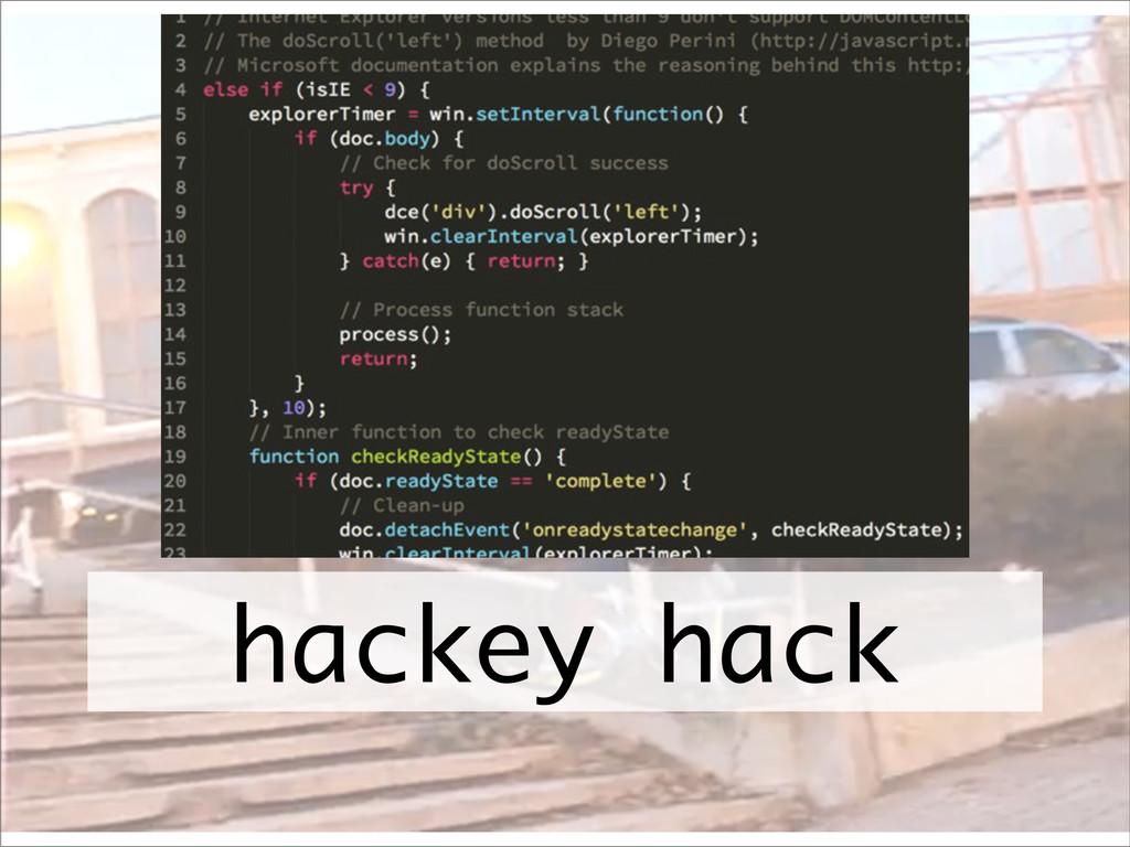 hackey hack