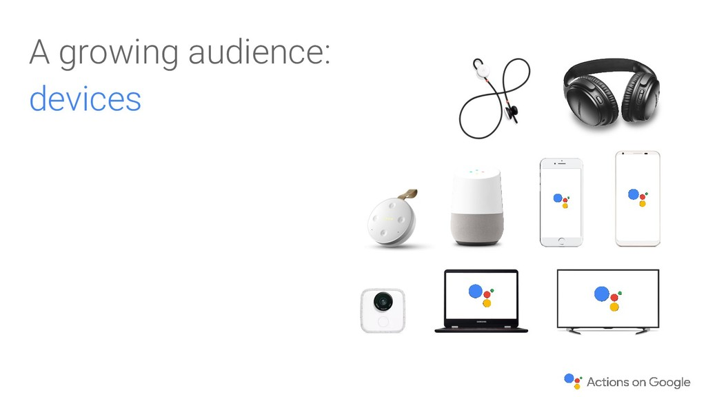 A growing audience: devices