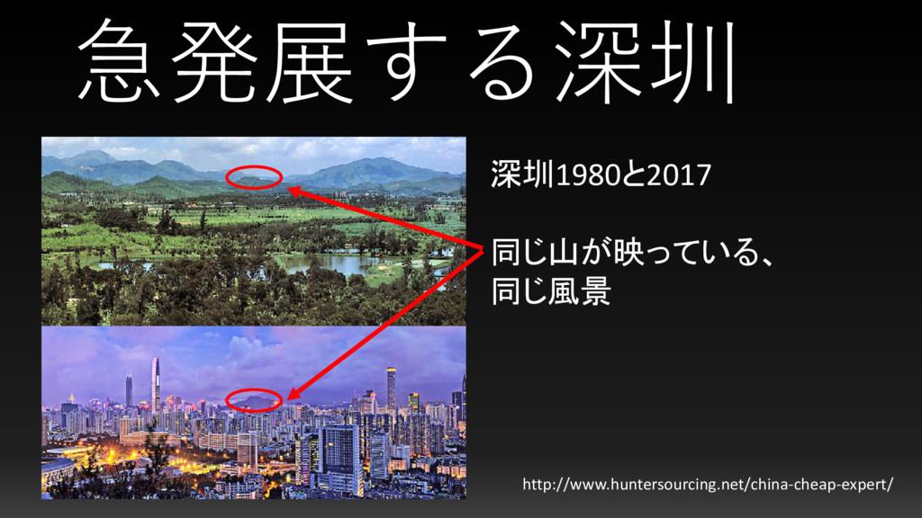 急発展する深圳 http://www.huntersourcing.net/china-che...
