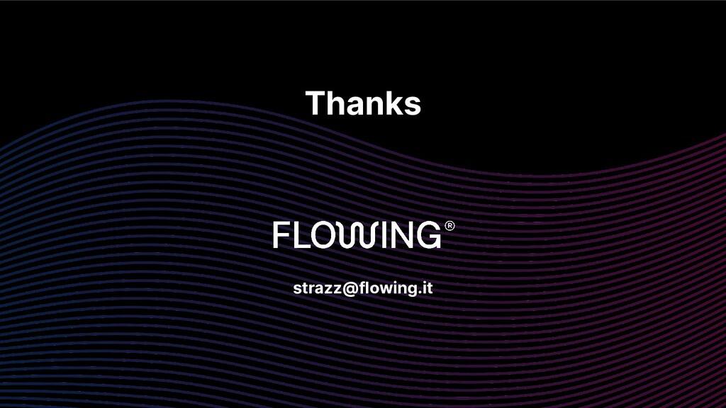 Thanks strazz@flowing.it