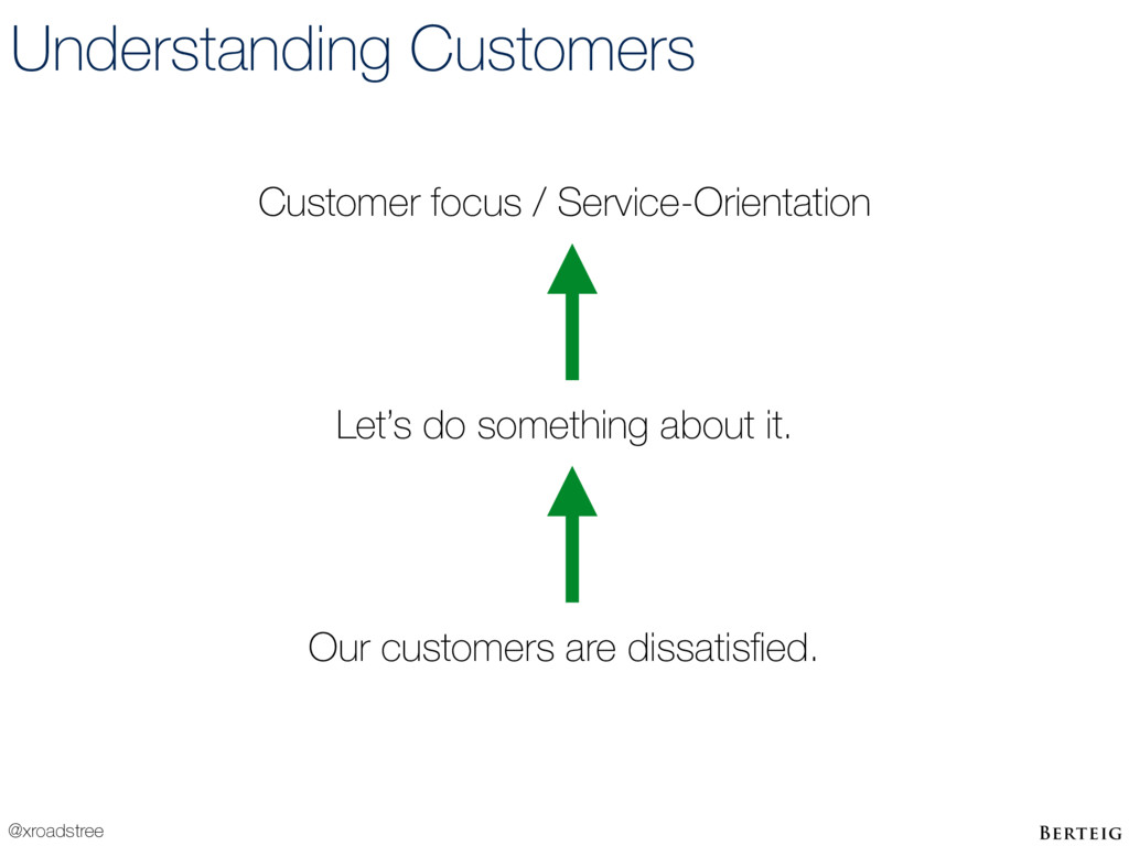 @xroadstree Understanding Customers Our custome...