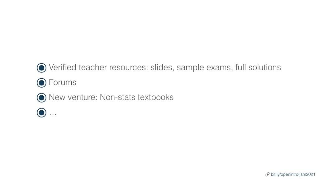 ๏Veri fi ed teacher resources: slides, sample e...