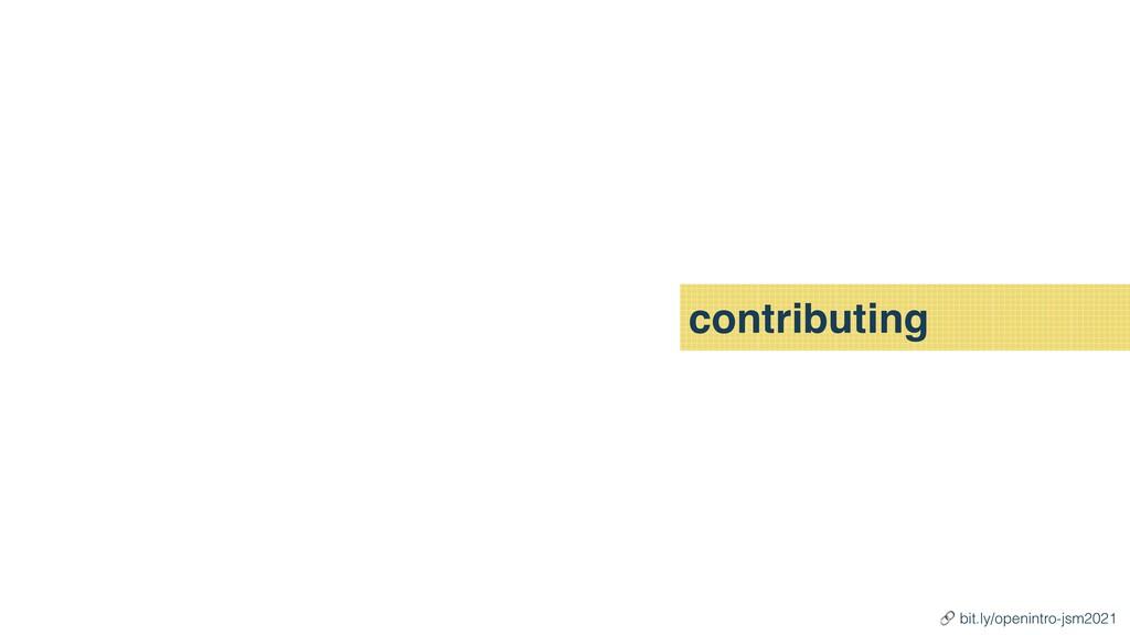 contributing 🔗 bit.ly/openintro-jsm2021