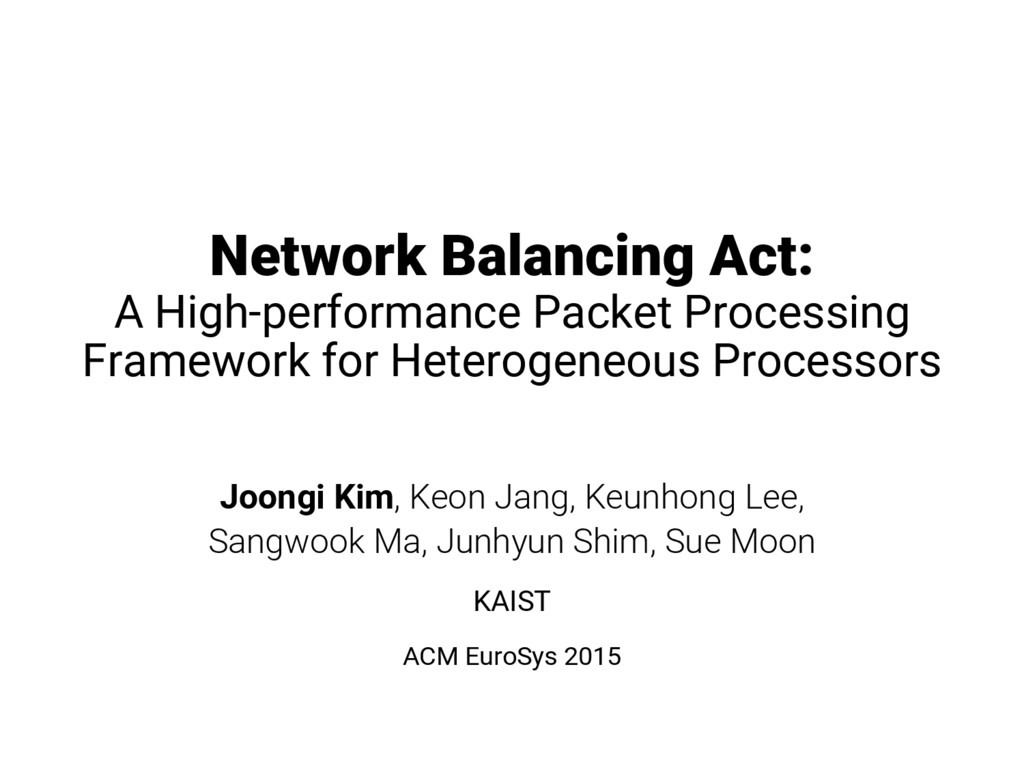 Network Balancing Act: A High-performance Packe...