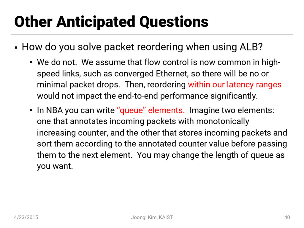 Other Anticipated Questions § How do you solve ...