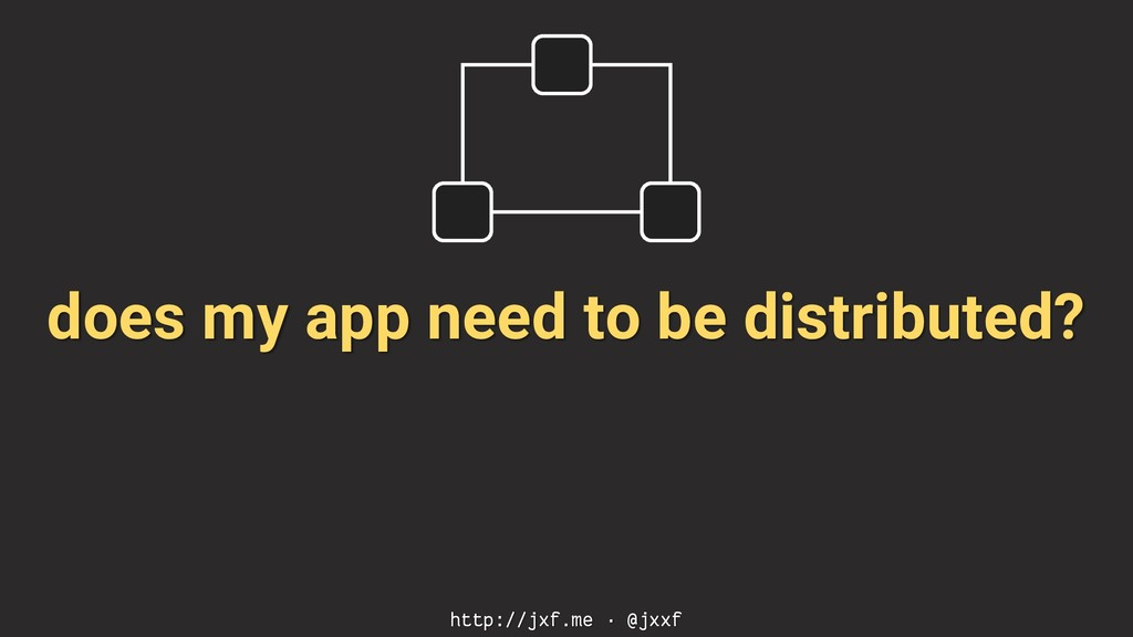 does my app need to be distributed? http://jxf....