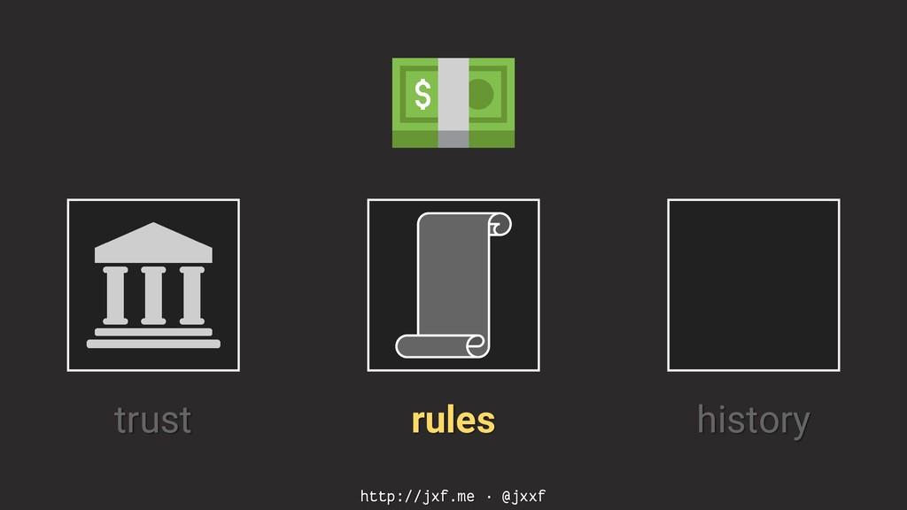 http://jxf.me · @jxxf trust rules history