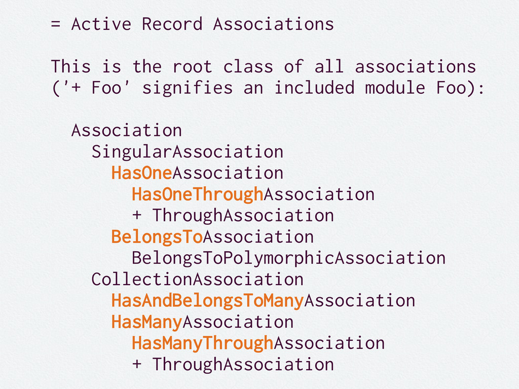= Active Record Associations This is the root c...