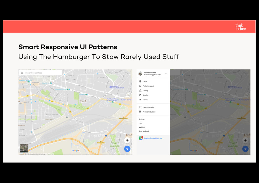 Using The Hamburger To Stow Rarely Used Stuff S...