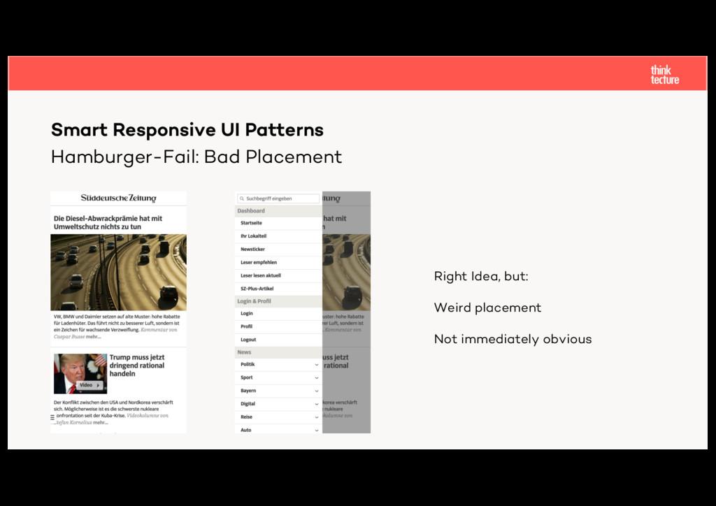 Hamburger-Fail: Bad Placement Smart Responsive ...