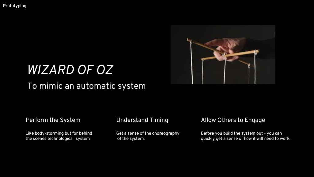 Perform the System Like body-storming but for b...