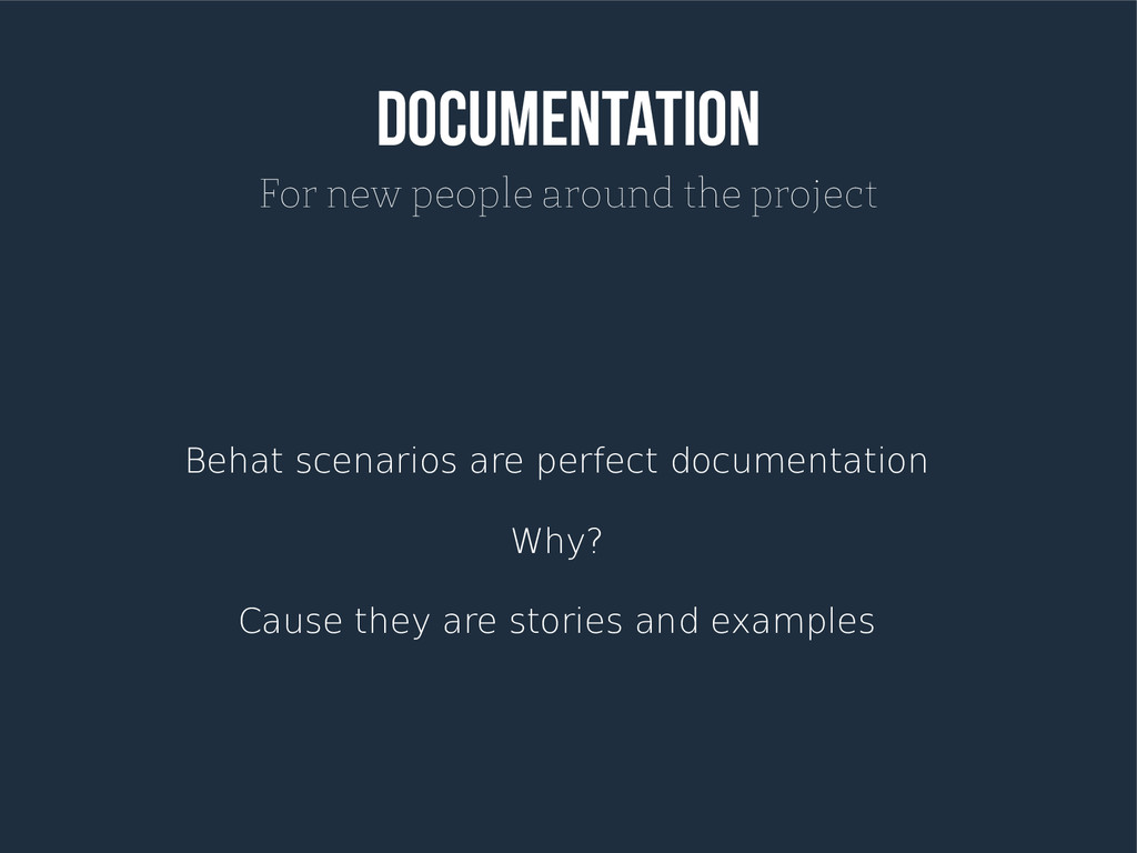 Documentation For new people around the project...