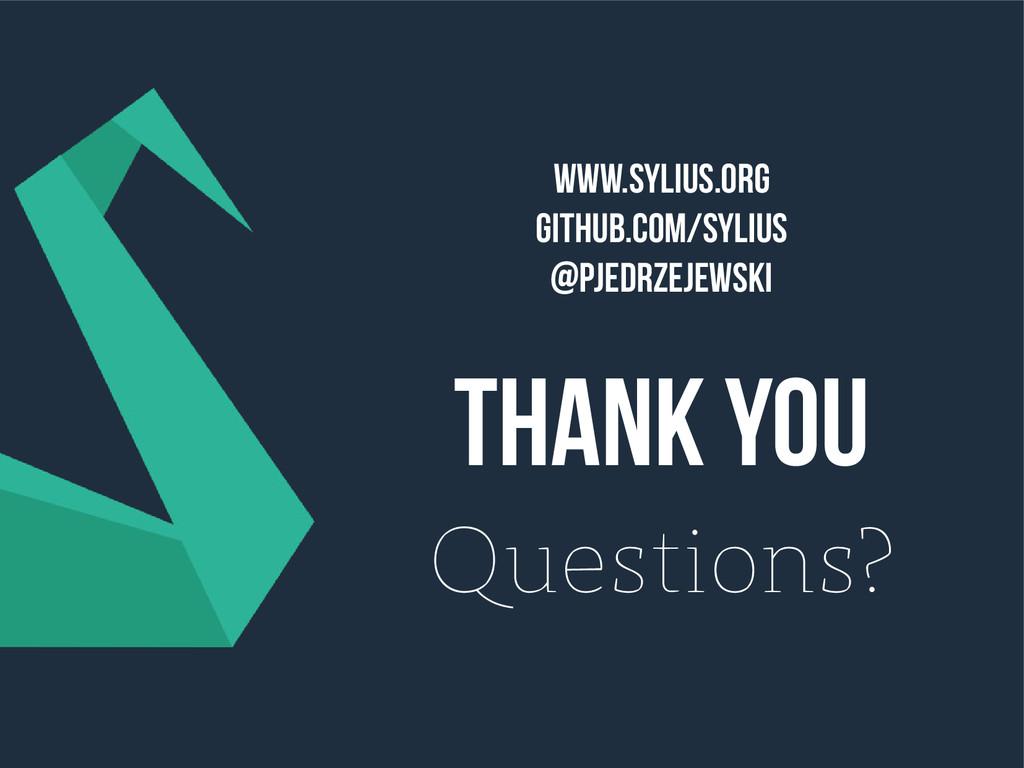 Www.sylius.org Github.com/sylius @pjedrzejewski...