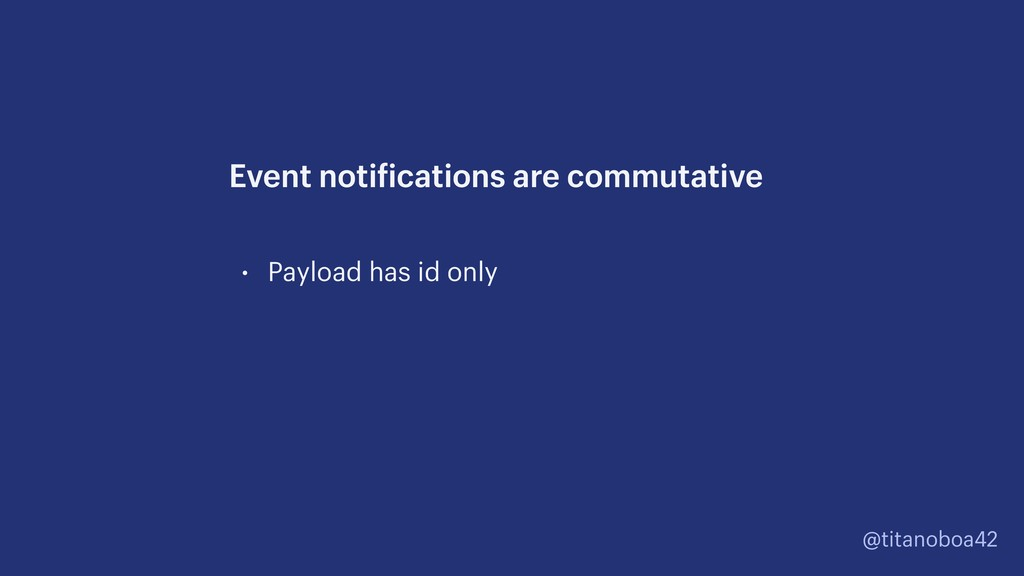 @titanoboa42 • Payload has id only Event notifi...