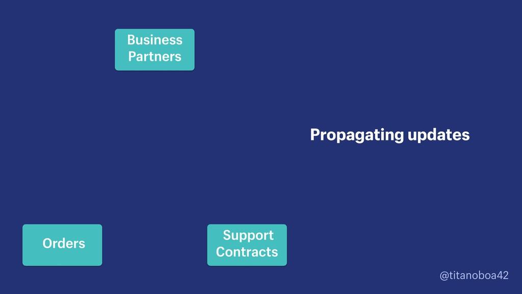 @titanoboa42 Propagating updates Business Partn...