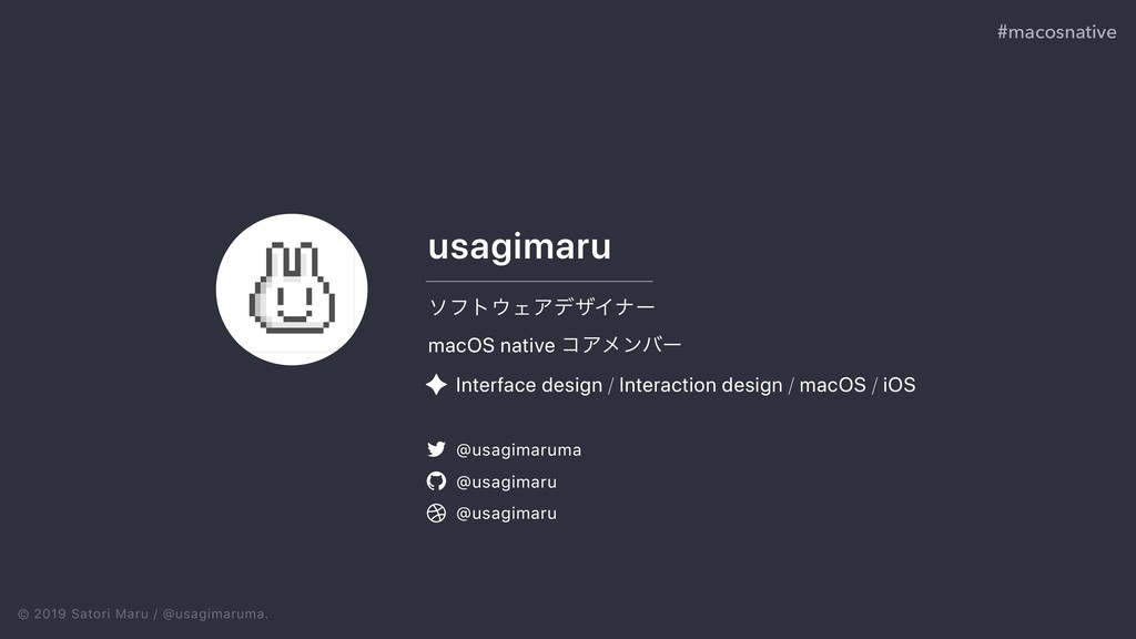 © 2019 Satori Maru / @usagimaruma. ιϑτΣΞσβΠφʔ ...