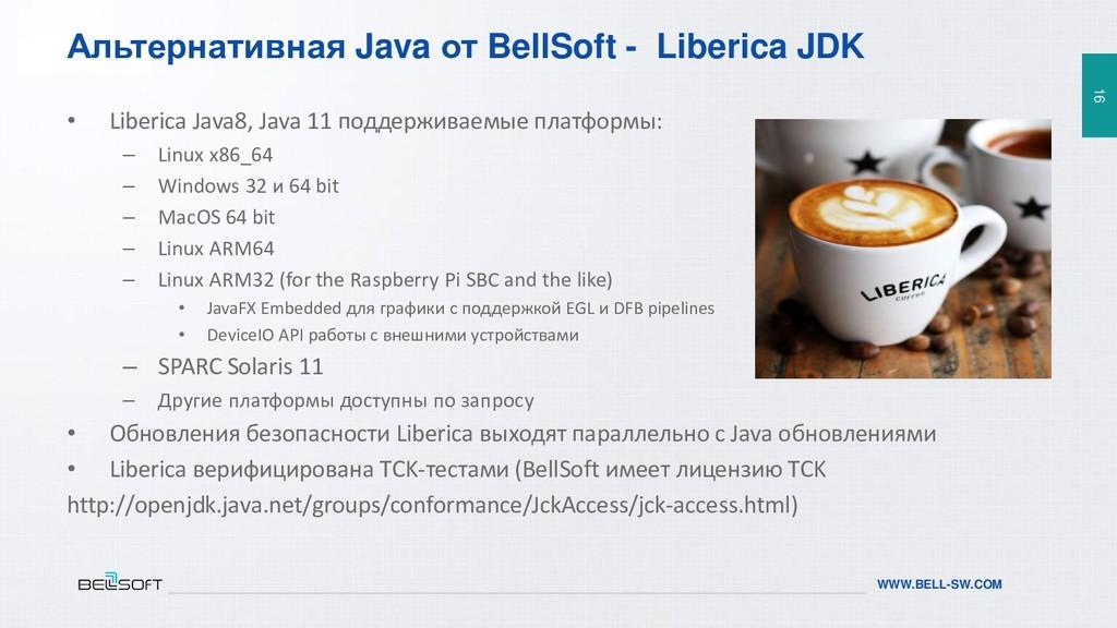 16 WWW.BELL-SW.COM 16 WWW.BELL-SW.COM Альтернат...