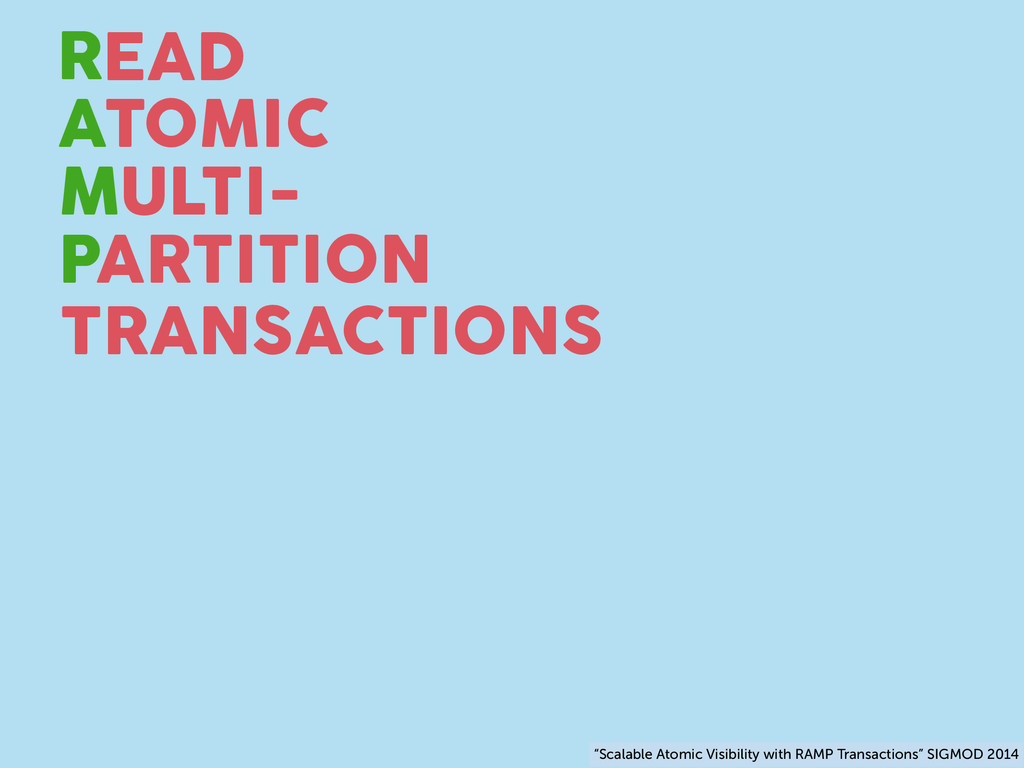"TRANSACTIONS R A M P TOMIC EAD ULTI- ARTITION ""..."