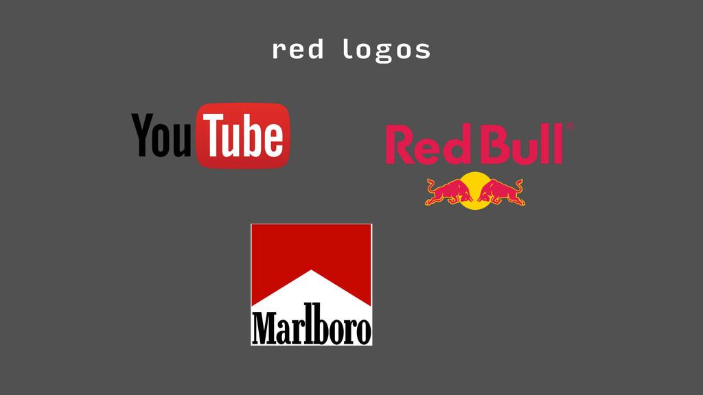 red logos