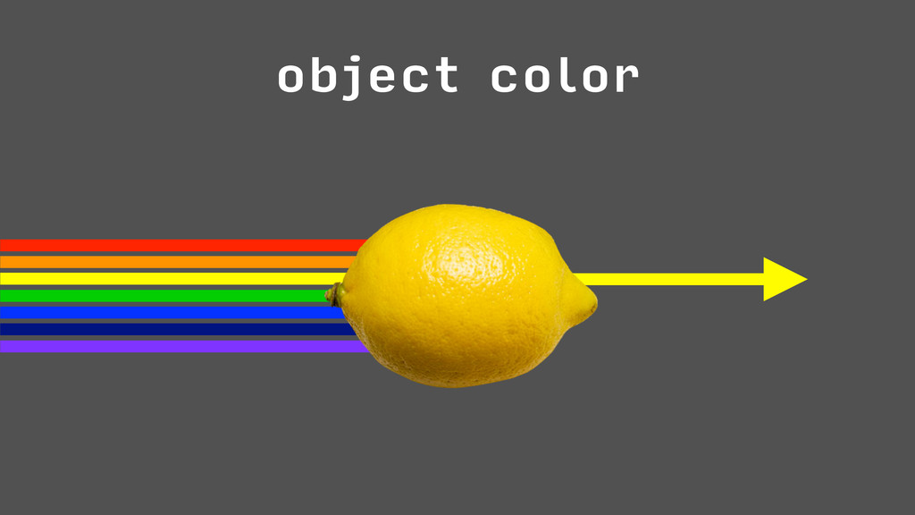 object color