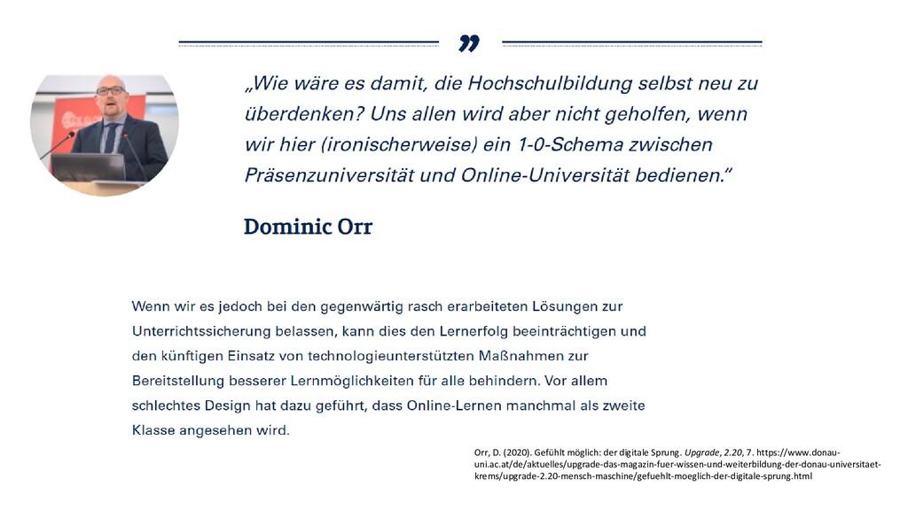 Orr, D. (2020). Gefühlt möglich: der digitale S...