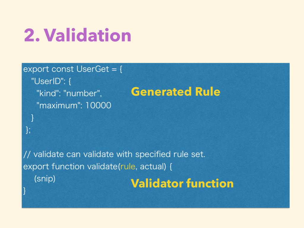 2. Validation • ` FYQPSUDPOTU6TFS(FU\ ...