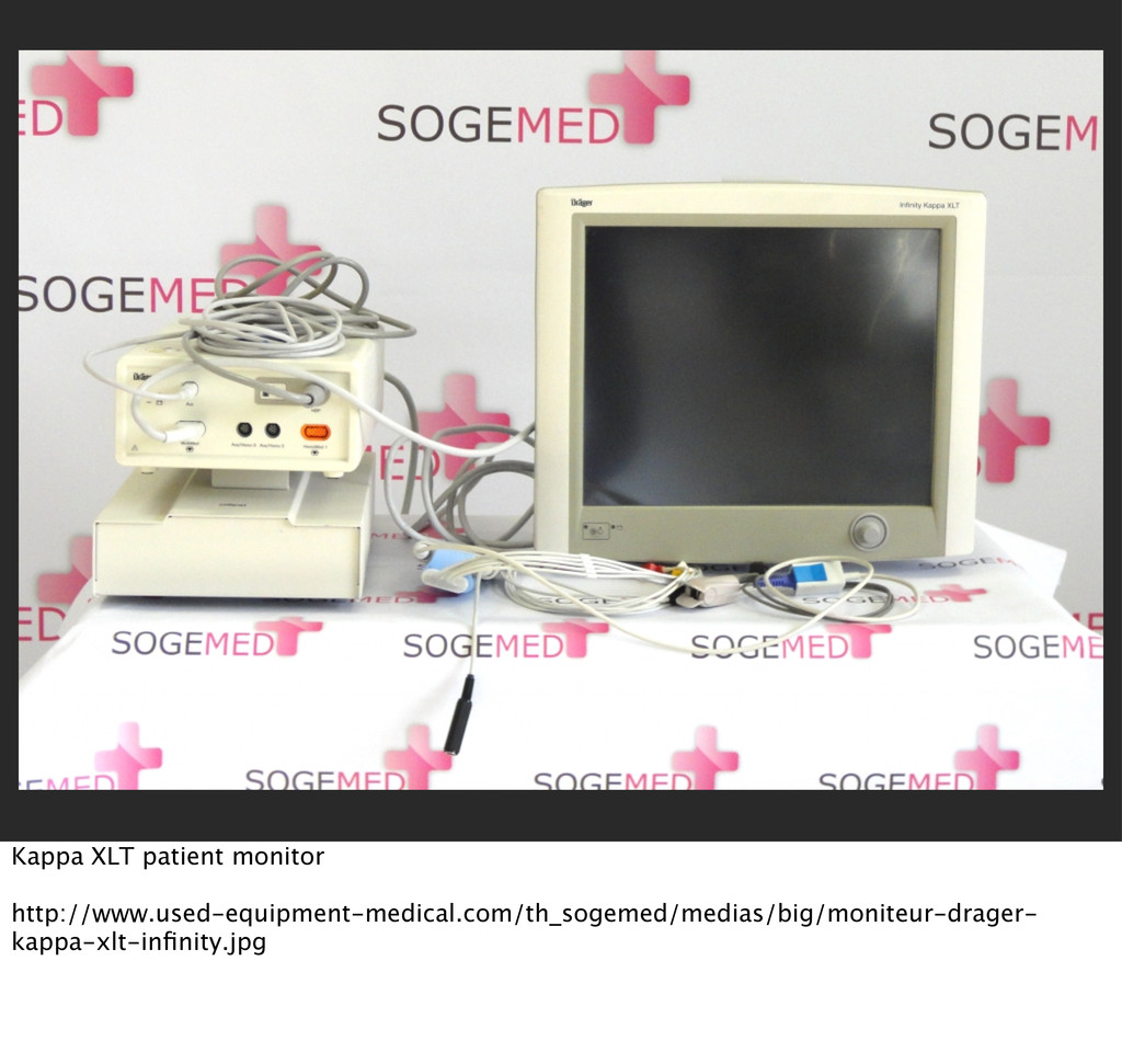 Kappa XLT patient monitor http://www.used-equip...